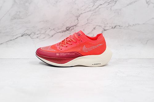 马拉松 NEXT% 红色 货号:CU4123 600 Air Zoom Alphafly NEXT% 马拉松 真ZOOM气垫 蝉翼网纱透气强轻量超跑运动鞋  Q6