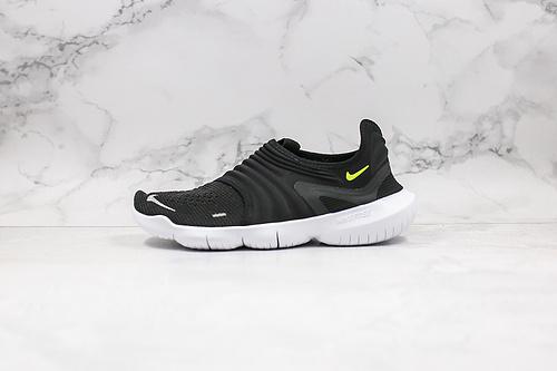 赤足3.0一体化鞋面鞋带系统 耐克Nike Free RN 3.0赤足系列超轻量休闲运动透气慢跑鞋 一体式鞋身穿脱更为轻便    Z11