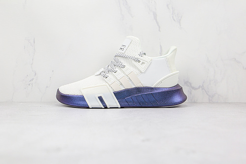 B30 EQT 针织 网面 白蓝色 EQT 阿迪 货号:FV3756 三叶草 支撑者系列 针织轻便复古慢跑鞋 Adidas EQT BASK ADV 将醒目   R12-12