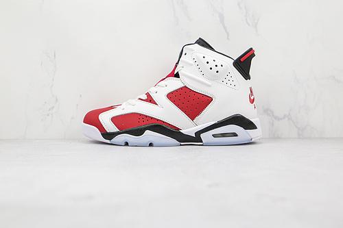 乔丹 AJ6 货号:CT8529 106 AIR JORDAN 6 胭脂红 白红色   T23