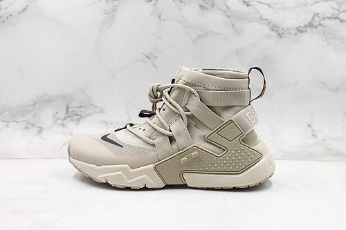 A50 |  公司级高帮华莱士耐克 公司级NIKE AIR HUARACHE GRIPP QS 华莱士潮流机能高帮运动鞋  货号:AT0298-001   K17