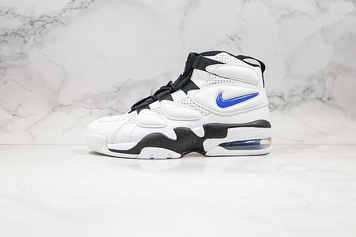 皮蓬2代 二代 篮球鞋 货号:472490 001 白黑蓝色 Nike Air Max270 Uptempo'94 皮蓬经典高街百搭篮球鞋系列     K17