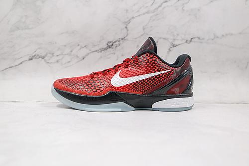 灭世纯原 科比6代 复刻 黑红色 货号:448693 600 全明星配色 波点 鱼鳞纹 原盒 带配件Nike Zoom Kobe VI采用了融入了耐克创新   S-