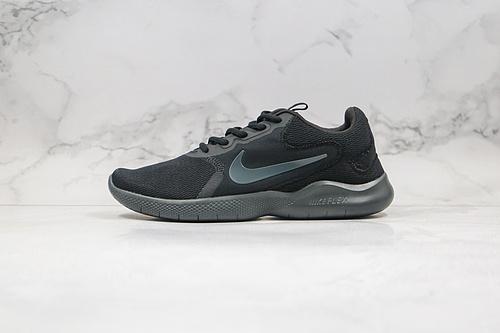 A90 公司级 赤足 RN9 系列 跑鞋 货号:CD0225-004 黑色 耐克Nike Flex Experience Rn9 耐赤克足系列休闲跑鞋 轻透量气      F12-