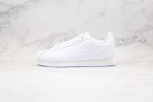 B10 | 真标 耐克 阿甘 全白色  货号:807471 102  作为Nike 复古跑鞋中的经典成员,颇有年代感的阿甘      Q17     K6    K7-25