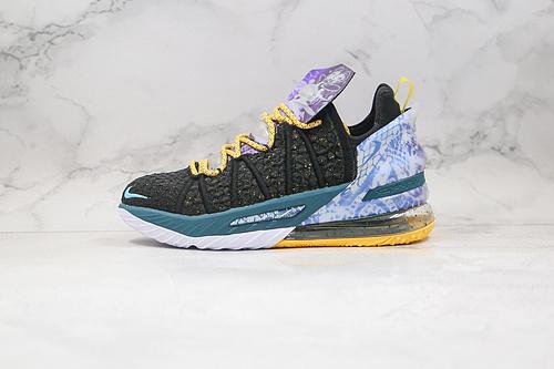 詹姆斯18代 #篮球鞋 勒布朗  货号:DB7644 003 黑蓝色 LBJ18 #NIKE LEBRON XVIII 18 LOW EP詹姆斯   Z18-6