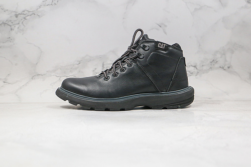 CAT 卡特 英伦风 中帮 工装靴子 棕色&黑色 高端户外休闲工装鞋系列货号: P722926 马丁英伦风十足 原出口外贸订单 老外的最爱      Z15