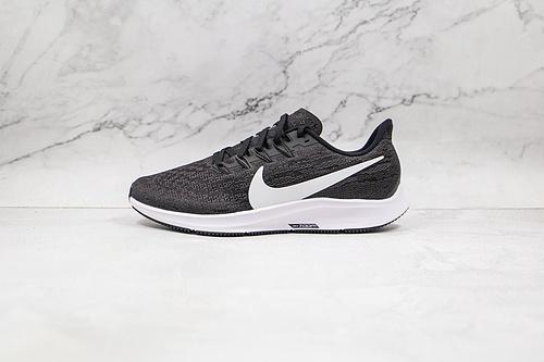 登月36代 黑白色 正品渠道订单 耐克 Nike Air Zoom Pegasus 36 登月36代 货号:AQ2203 002 超轻舒适休闲户外跑鞋      Q6