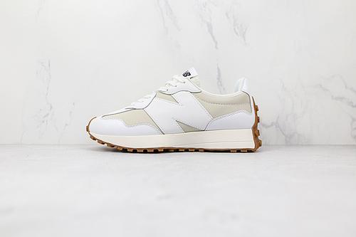 新百伦 NB327 米白色 新百伦 货号:WS327LA NB327  #NB 复古慢跑鞋 New Balance 327 复古先锋    M23-5
