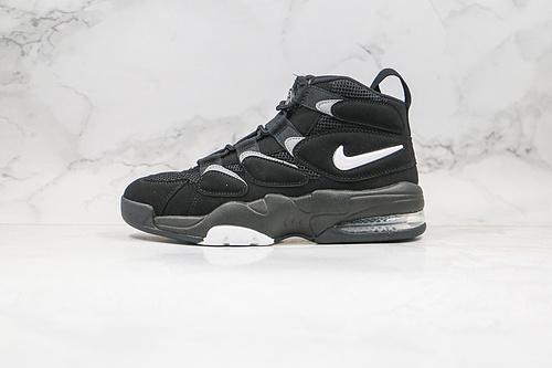 皮蓬2代 二代 篮球鞋 货号:472490 010 黑色 Nike Air Max270 Uptempo'94 皮蓬经典高街百搭篮球鞋系列 ,斯科特.皮蓬的战靴      K17