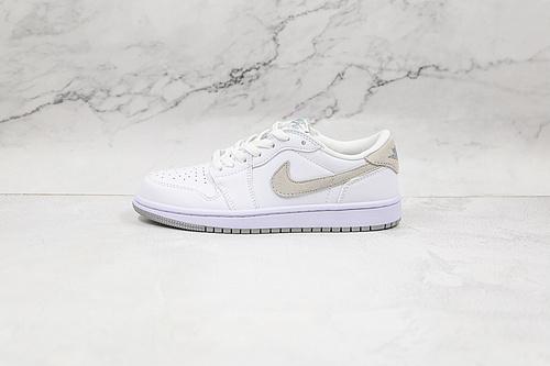 乔丹 AJ1 低帮 白绿色 薄荷绿 货号:CZ0858 100 Air Jordan 1 low AJ1低帮板鞋 运动鞋   M23-5