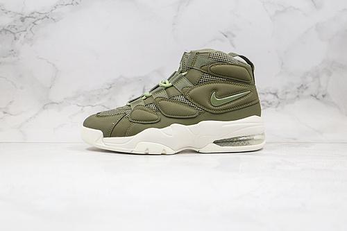 皮蓬2代 二代 篮球鞋 货号:919831 300 军绿色 Nike Air Max270 Uptempo'94 皮蓬经典高街百搭篮球鞋系列 ,斯科特.皮蓬的战靴     K17