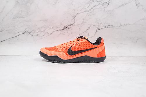 科比11代 橙色 生胶 货号:836184 806 Nike Kobe 11 EM篮球鞋运动鞋 Nike Kobe 11于2016年发售   K25-5