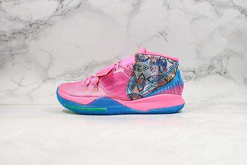 """真标 欧文6 城市限定 东京 Nike Kyrie 6 """"Pre-Heat Tokyo"""" 欧文6代全新签名战靴 休闲篮球鞋 CQ7634-601      K25-5"""