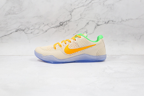 科比11代 贝多芬 白金色 透明底 货号:856852 282 Nike Kobe 11 EM篮球鞋运动鞋 Nike Kobe 11于2016年发售  K25-5