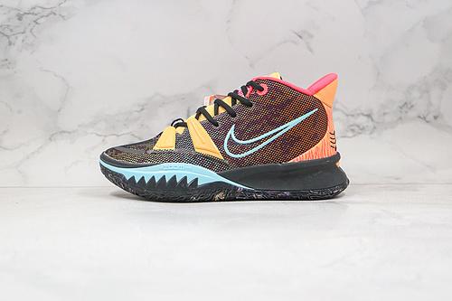 欧文7代 黑彩色 耐克 篮球鞋 藏不住的鲨鱼齿,霸气侧漏 货号:DC0588 002 Nike Kyrie 7 Pre Heat Ep  欧文7代   G25  R12-12