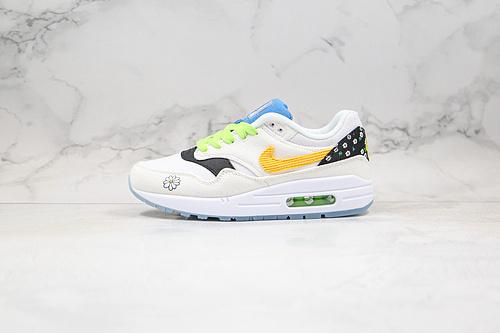 B50 | 公司级 小雏菊 小气垫 权志龙  货号:CW5861 100  Nike 重磅推出名为 Daisy Pack 的全新套装,包含 Nike Air Max 1 以及       Q17