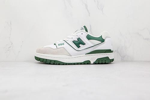 新百伦 NB550 白绿色 NB550系列 new balance 550系列复古休闲运动慢跑鞋板鞋      Z15-