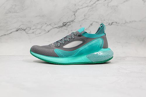 公司级 阿尔法 灰绿色 迷彩 12代 跑步鞋 阿迪达斯 货号:CG3420 Adidas AlphaBounce Beyond M 阿尔法运动休闲跑步鞋   J11