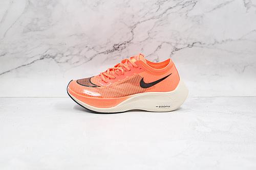 耐克 马拉松 橙色 跑步鞋 货号:AO4568 800 Next% 半透明 网纱 Nike ZoomX Vaporfly Next% 马拉松   Z15-