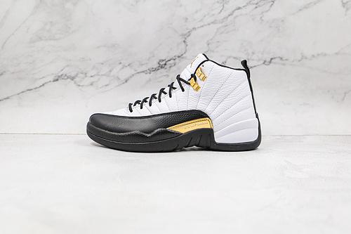 纯原版本 乔丹 AJ12 黑白色 篮球鞋 Air Jordan 12  AJ12乔12 男子文化篮球鞋 货号:CT8013 170  圈内知名口碑大厂出品     L6