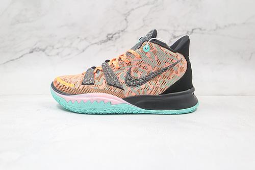 耐克 欧文7代 全明星 中帮 货号:DD1447-800 Nike Kyrie 7 EP 篮球鞋 采用了可回收材料,呈现在大底和Swoosh框架等细节 K25-5 O11