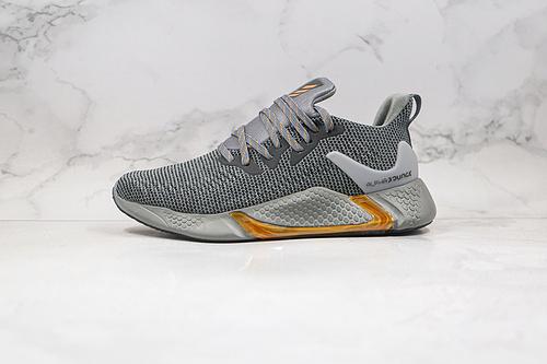 阿尔法10代 跑鞋 爆米花 货号:CG5596 灰金色 Adidas 阿迪达斯 AlphaBounce Beyond m 阿尔法10代  J11   U23  S7-