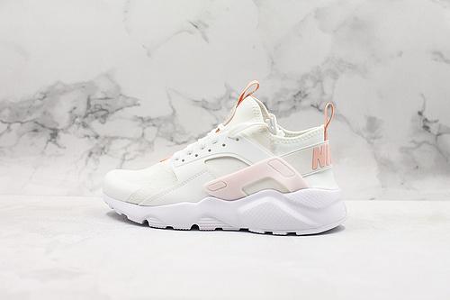 "B30 | 公司级华莱士四代白粉百搭慢跑鞋""白粉"" Nike Air Huarache Run Ultra Textile货号 847568-016      K17"