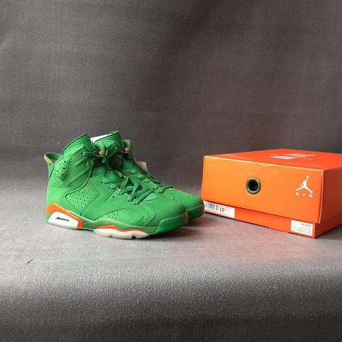 """乔6 佳得乐 绿 麂皮 40.5-47.5 Air Jordan 6""""Gatorade""""AJ5986-335"""