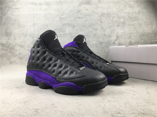 """乔13 aj13黑紫 3D真猫眼 40-47.5 Air Jordan 13"""" Court Purple""""货号:DJ5982-015"""