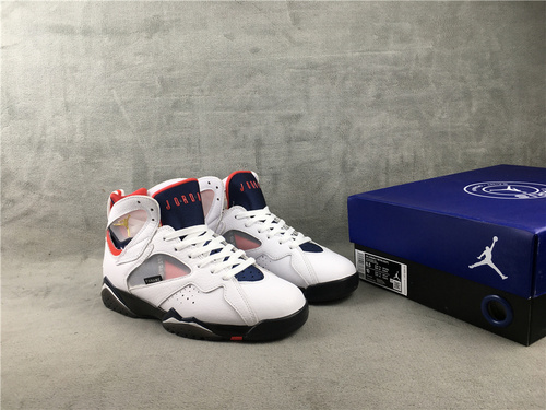 """乔7 大巴黎 原装版本 40-47.5 Air Jordan 7 """"PSG""""货号:CZ0789-105"""