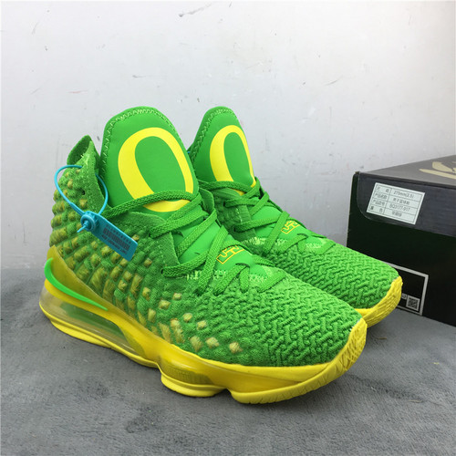 詹姆斯 苹果绿 40-46 Nike LeBron 17 货号:BQ3177-317