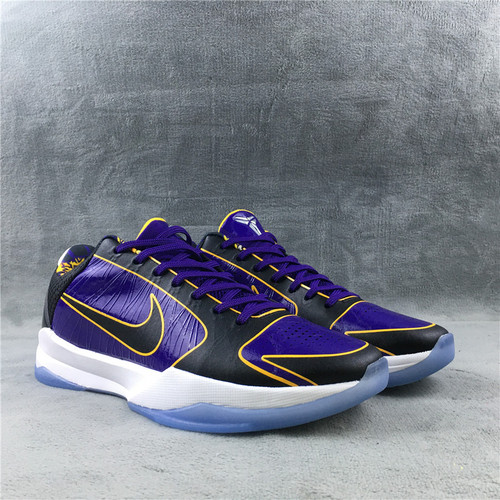 zk5 湖人紫金 尺码:39-46 Nike Kobe 5 Protro Lakers CD4991-500