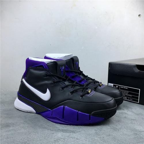 科比 黑紫湖人 原装版 40-47.5 Nike Kobe 1 ZK1 货号:AQ2728-004