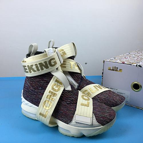 詹姆斯 机能绷带灰紫 40.5-46 KITH x Nike LeBron Lifestyle 15 XV AO1068-900