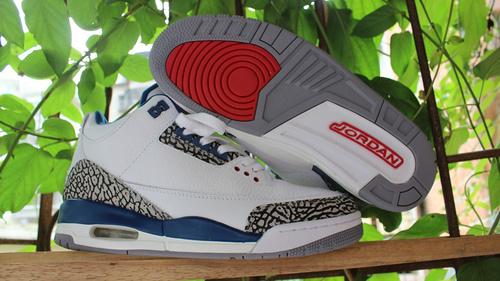 Air Jordan 3 乔丹三代 爆裂篮球鞋 原装盒标