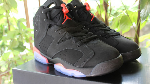 "乔6代3M反光女鞋大量 36-40            Air Jordan 6 ""Black Infrared"""