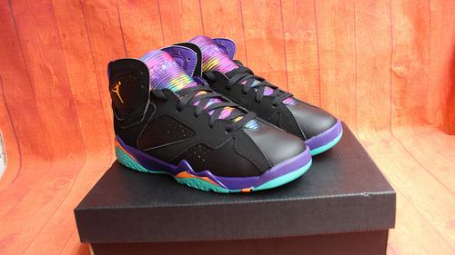 "乔7罗拉兔36-40 终极版 Air Jordan 7 GS ""Multicolor Tongue"