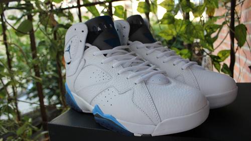 """乔7白兰 真标41-47.5 Air Jordan 7 Remastered """"French Blue"""