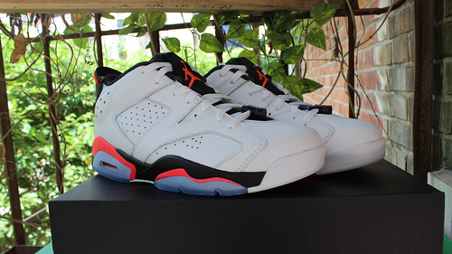 "乔6低帮高尔夫终极版 41-47.5 Air Jordan 6 Low ""White Infrared"""