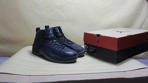 """乔12黑羊毛 全黑 真标 41-47.5 Air Jordan 12 """"Wool""""852627-003"""