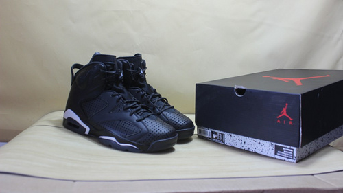 "乔6 黑猫 真标 41-47.5 Air Jordan 6 ""Black Cat""384664-020"