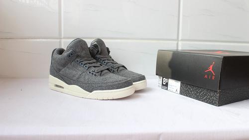 """乔3 羊毛 真标 40-46 Air Jordan 3 """"Wool""""854263-004"""
