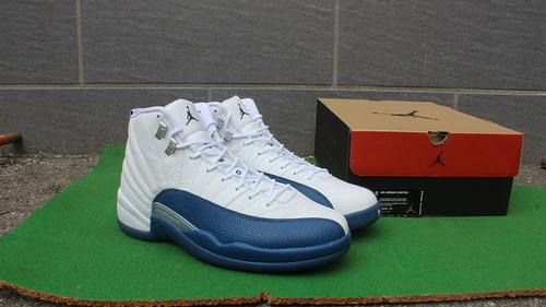 """乔12法国兰终极版41-47.5  Air Jordan 12 """"French Blue"""