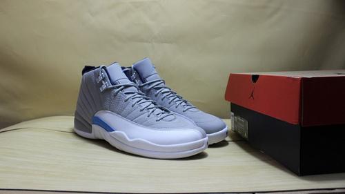 """AJ12灰狼终极版 41-47.5 Air Jordan 12 """"GreyBlue"""""""