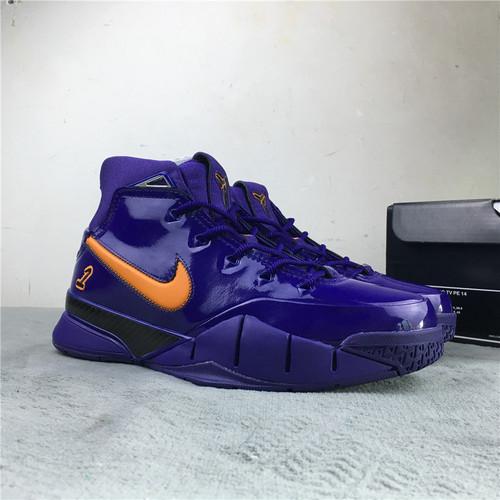科比 紫色  原装版 40-45 Nike Kobe 1 Protro ZK1 DeMar DeRozan PE 货号:AR4595-500