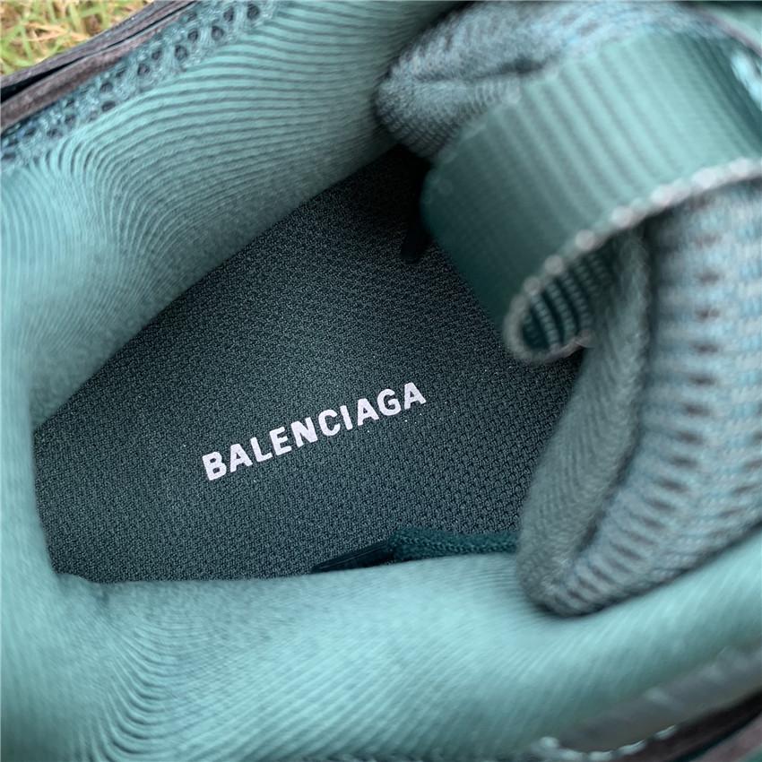 巴黎世家 Balenciaga Track 3.0 军绿色   35-45_东莞aj和正品有什么区别
