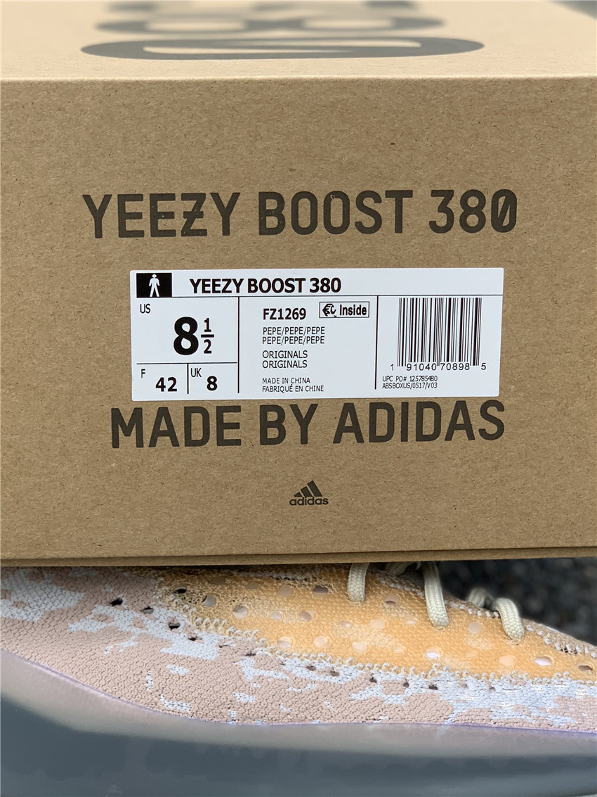"adidas YEEZY Boost 380 ""Pepper""货号:FZ1269_莆田纯原在哪里买"