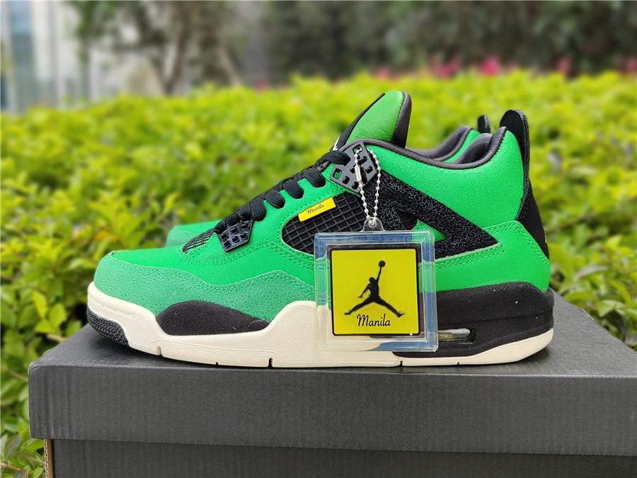 "Air Jordan 4 ""Manila""马尼拉限定,  40--47.5_莆田纯原版本怎么买"