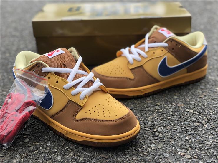 Nike Dunk Low Newcastle Brown Ale 黄蓝色货号:313170-741,全码,36—46_高质量莆田鞋微商